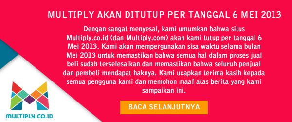 Tidak Kompeten dalam Menghadapi Tantangan Bisnis E-Commerce, Multiply Gulung Tikar