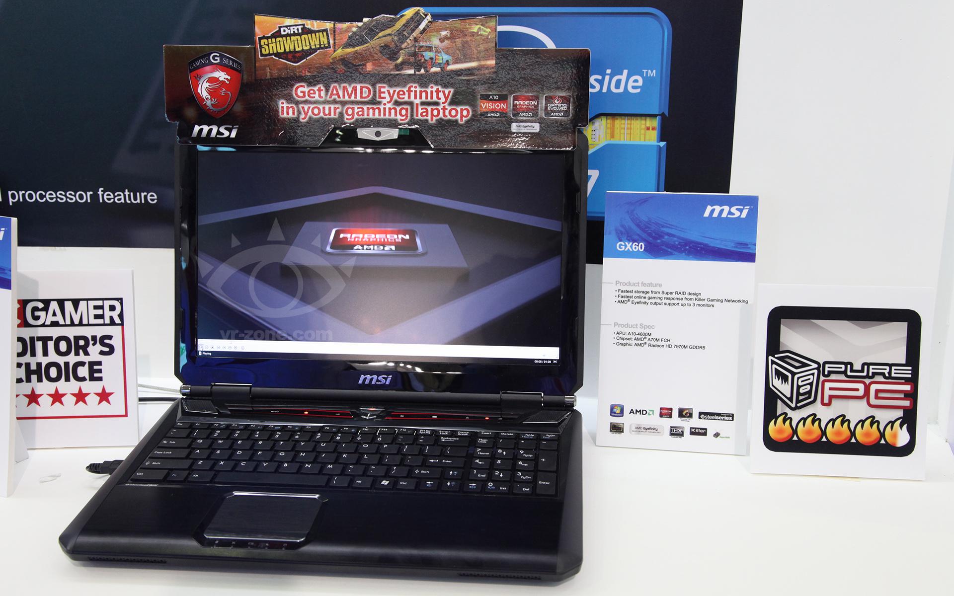 MSI GX 60: Notebook Tangguh dengan Dua GPU