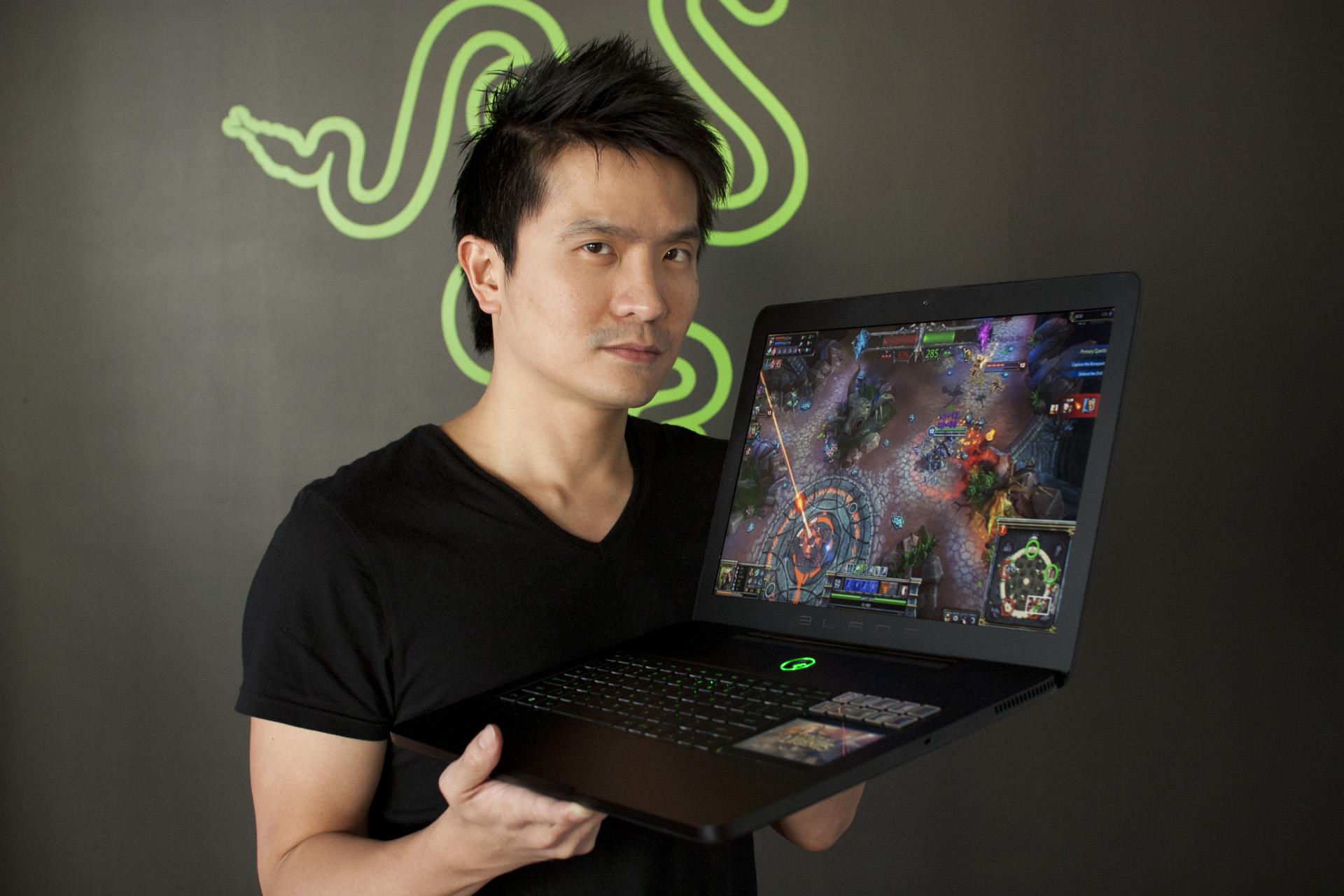 Razer Blade Pro: Notebook Gaming Tertipis
