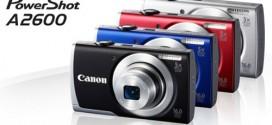 Canon PowerShot A2600 Menawarkan Fitur Minimalis