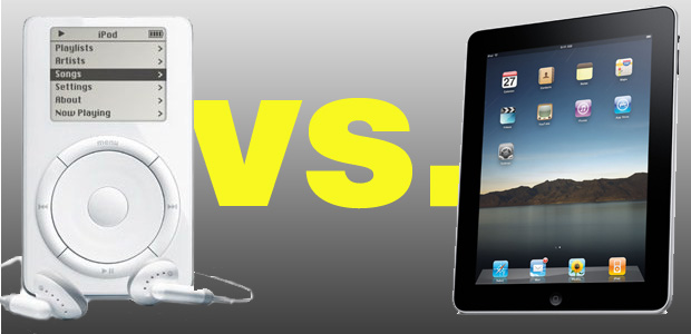 Mengenal Perbedaan iPod dan iPad Gadget Produksi Apple