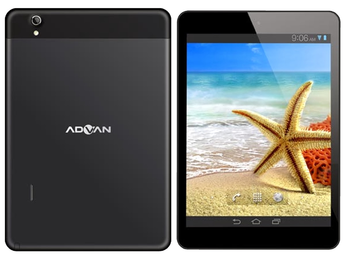 Membandingkan Tablet Advan Vandroid T5c Vs Tablet Advan