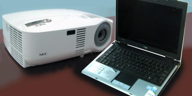 Memilih Proyektor yang kompatibel dengan Laptop - Blog ...