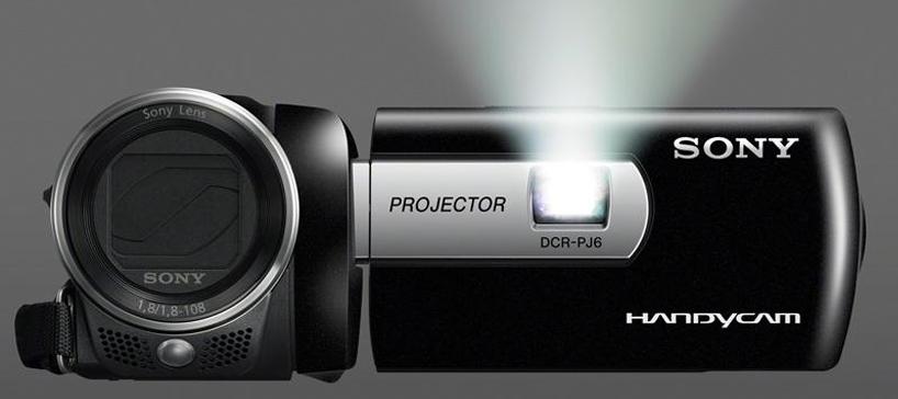 Spesifikasi dan Tipe Proyektor SONY Terbaru Sony DCR-PJ5 dan DCR PJ6, Handycam Sekaligus Proyektor_2
