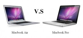 Apple Macbook Pro VS Apple Macbook Air