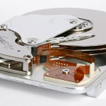 Inner part of a hard disk drive Seagate Medalist ST33232A