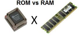 Perbedaan RAM dan ROM Serta  Persamaan Keduanya