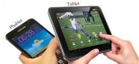 Perbedaan phablet dengan tablet