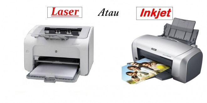 pilih printer inkjet atau laser. Black Bedroom Furniture Sets. Home Design Ideas
