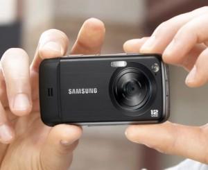 Digital camera phone