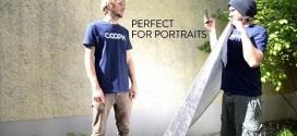 Gunakan Reflector untuk foto Portraits