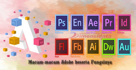 Macam-macam Adobe dan Kegunaannya