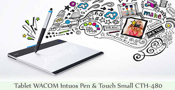 Tablet WACOM Intuos Pen & Touch Small CTH-480