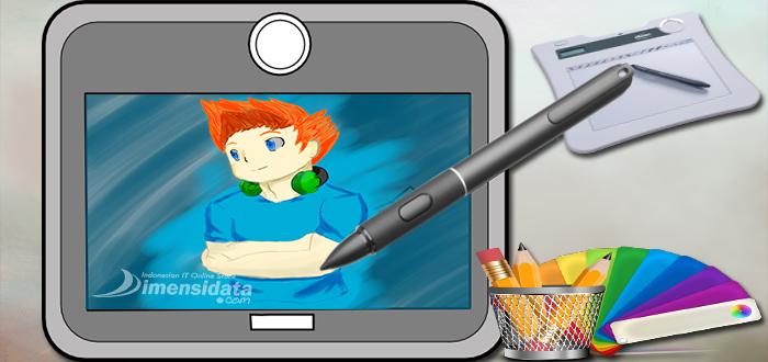 tablet  desain grafis/digital drawing  terbaik harga murah