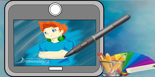 tablet desain grafis/digital drawing tablet terbaru dengan harga satu jutaan