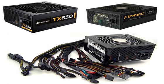 Memilih Power Supply Yang Bagus untuk PC Gaming