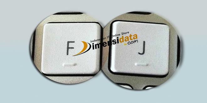 Fungsi Rahasia Tonjolan Pada Huruf F dan J di Keyboard
