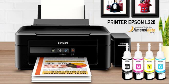 Kelebihan serta Kekurangan Spesifikasi Printer Epson L220 InkJet All In One dan Harga Terbaru saat ini 2016