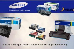 Daftar Harga Tinta Toner Cartridge Samsung Original Murah 2016