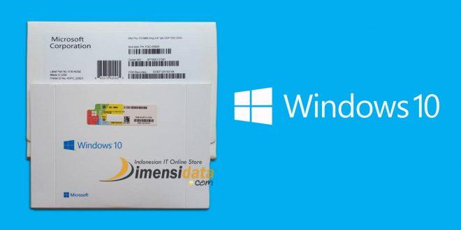Harga Windows 10 Pro Original 64 Bit Resmi di DimensiData