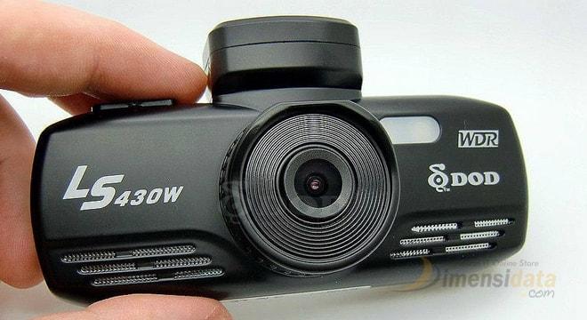 Kamera dashboard mobil DOD LS430W car DVR