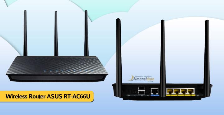 Merk Modem Wireless Router Terbaik ASUS RT-AC66U