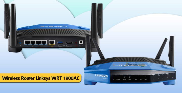 Wireless Router Terbaik Linksys WRT 1900AC