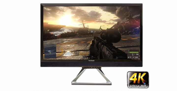 Gaming Monitor Terbaik Merk Viewsonic VX2880ml 4K Ultra HD