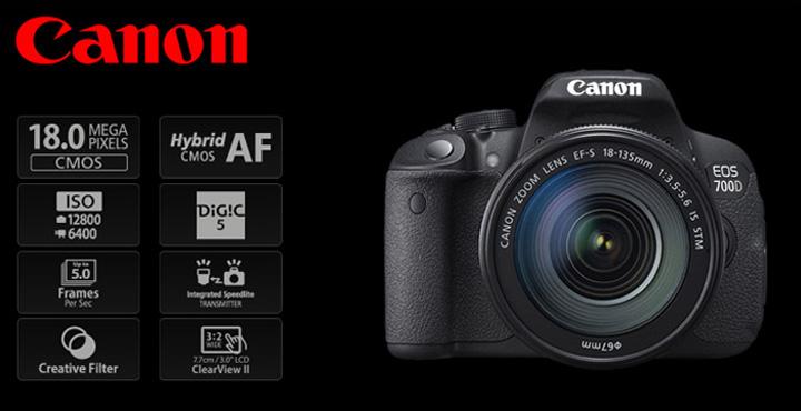 Harga Kamera CANON EOS 700D Kit2 Terbaru