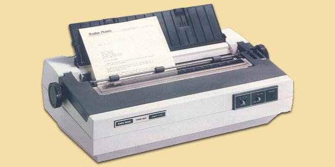 Macam Jenis Tipe Printer Daisy Wheel