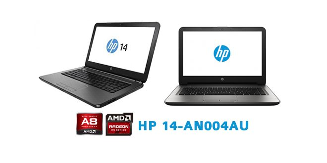 HP 14-an004au, Notebook Gaming Murah Dengan AMD A8 Quad Core