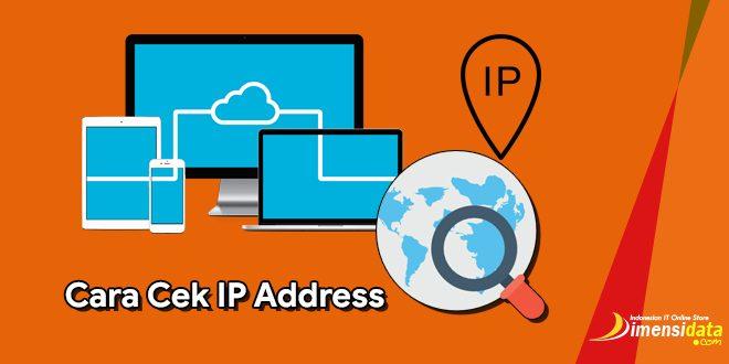 3 Cara Cek IP Address di PC Komputer Laptop dan HP Android