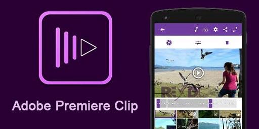 Adobe Premiere Clip - Aplikasi Edit Video Android Terbaik