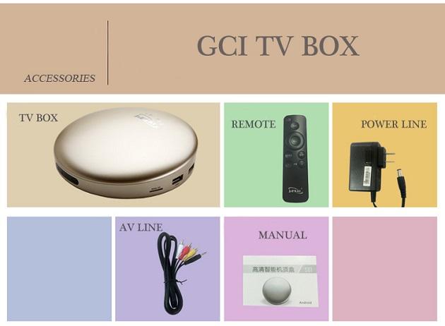 Android TV Box Terbaik GCI S61