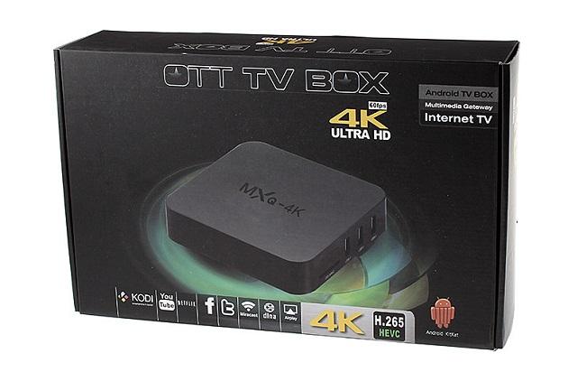 Android TV Box Terbaik MXQ 4K Ultra HD