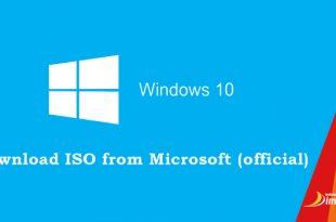 Cara Download File ISO Windows 10 Original Gratis di Website Resmi Micorosft
