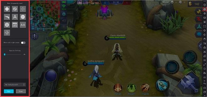 Cara Main Game Mobile Legends di PC Nox Player 3
