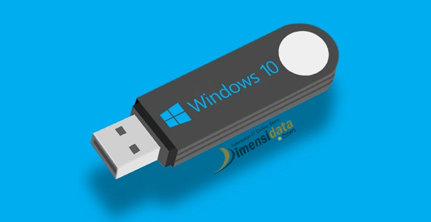 Cara Membuat Bootable Flashdisk Windows 7, 8 dan 10 Tanpa Software
