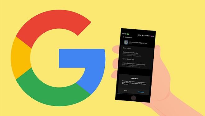 Cara Menghapus Akun Gmail di HP Android