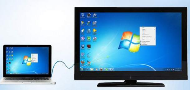 cara menyambungkan laptop ke tv lcd menggunakan hdmi. Black Bedroom Furniture Sets. Home Design Ideas