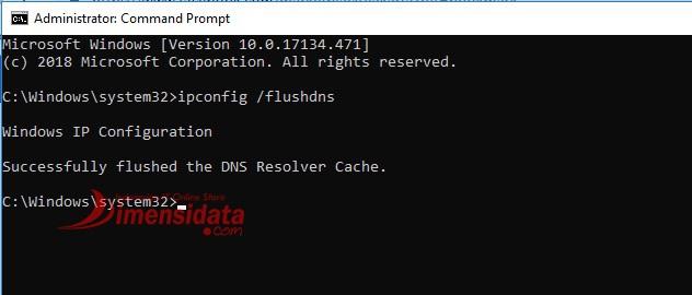 Cara Mudah Flush DNS di Windows 10 CMD