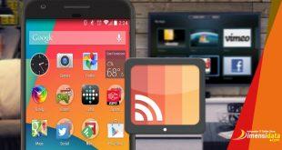 Cara Mudah Menghubungkan Hp Android ke TV