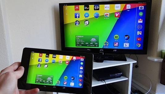Cara Mudah Menghubungkan Hp Android ke TV LED