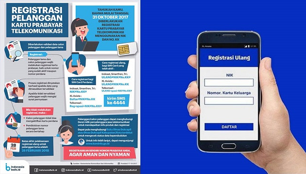 Cara Registrasi Ulang Kartu Perdana XL