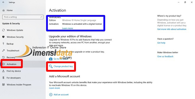 Cara Upgrade Windows 10 Home ke Windows 10 Pro 2