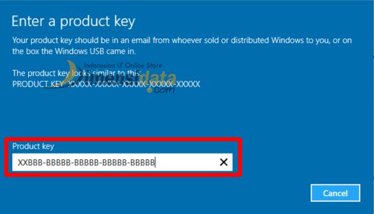 Cara Upgrade Windows 10 Home ke Windows 10 Pro 3