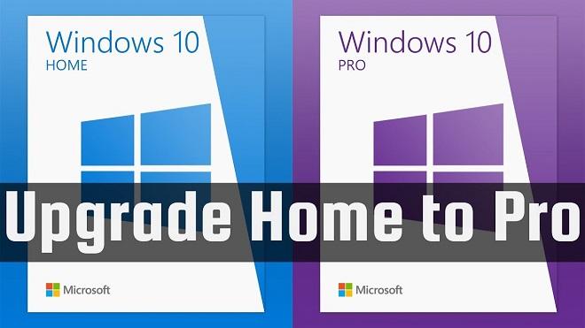 Cara Upgrade Windows 10 Home ke Windows 10 Pro Product Key