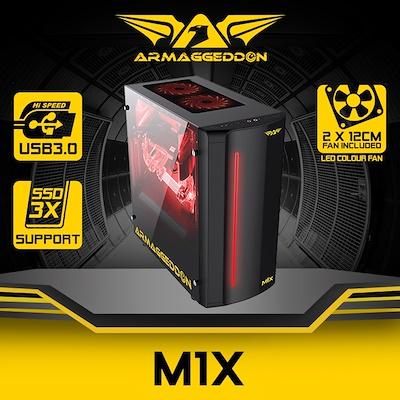 Casing PC Gaming Terbaik Armaggeddon M1X