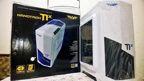 Casing PC Gaming Terbaik Murah Armaggeddon Nanotron T1X
