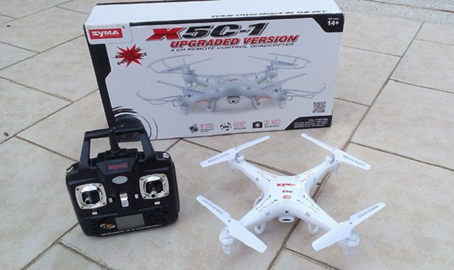 Drone Terbaik Untuk Pemula Syma X5C-1